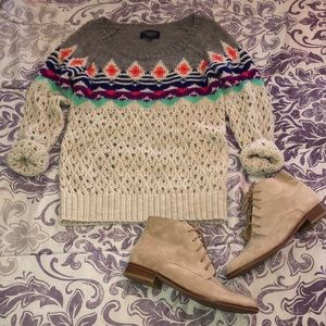 American Eagle Outfitters Multicolored Sweater S